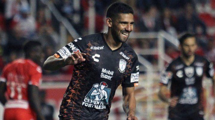 Franco Jara entró en la historia grande de Pachuca