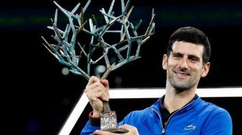 djokovic se corono campeon en paris