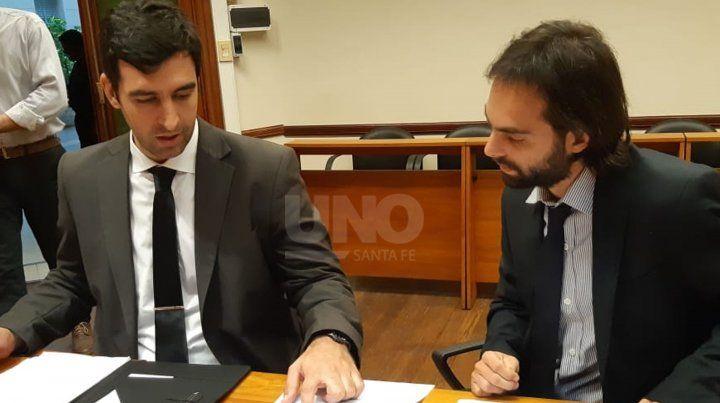 Los fiscales Ezequiel Hernández y Martín Torres