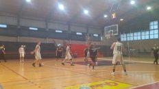 colon descendio a la zona a2 del torneo oficial de basquet