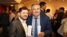 Marcos Castelló, senador electo por La Capital, y Marcelo Lewandowski, senador electo por Rosario, llegan a la Cámara alta de la mano de Perotti.