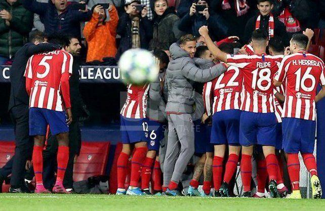 Atlético Madrid visita al Leverkusen por la Champions League