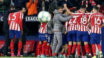atletico madrid visita al leverkusen por la champions league