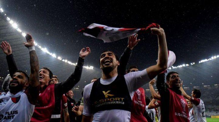 Estigarribia: No cambio por nada la Sudamericana