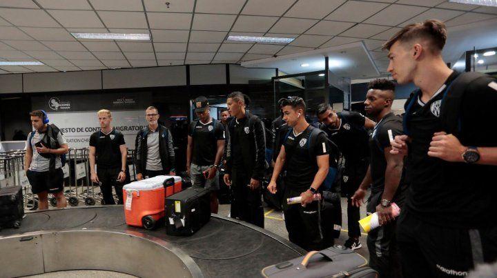 Independiente del Valle también llegó a Asunción para la final ante Colón