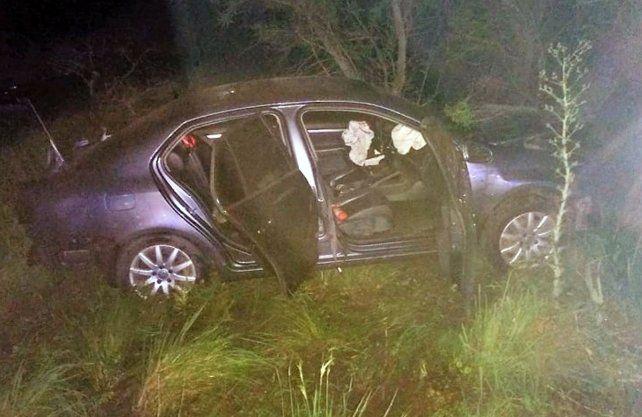 Los ocupantes del auto resultaron ileso.