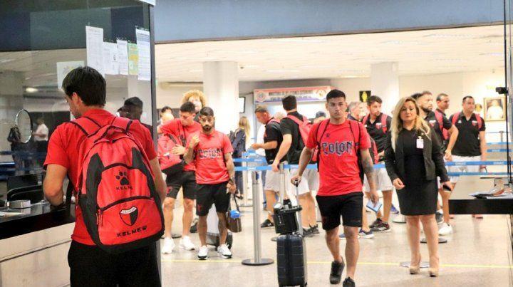Colón llevará adelante su primera práctica en Asunción