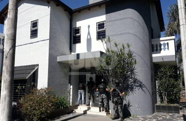 Cayó organización narcocriminal con decenas de kilos de cocaína en Santa Fe