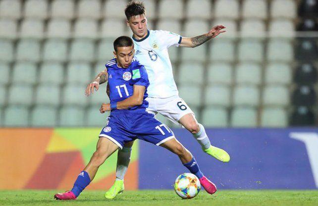 Argentina perdió con Paraguay y se despidió del Mundial Sub 17
