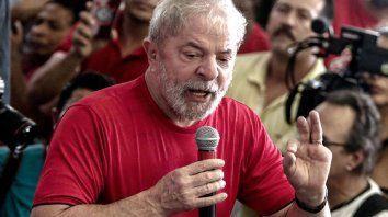 La Justicia concedió la liberación a Lula da Silva