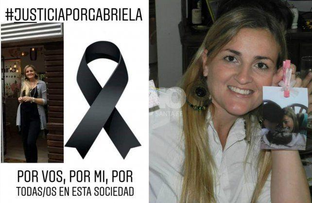 La sociedad de esperanza reclama justicia por Gabriela.