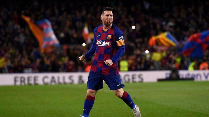 Messi tuvo otro show ofensivo: triplete al Celta de Vigo