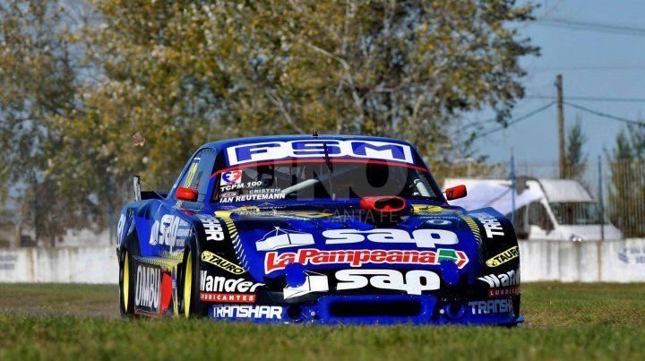 Ian Reutemann largará en la segunda fila en La Plata