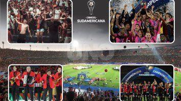 la pelicula de una final de copa sudamericana llena de pasion