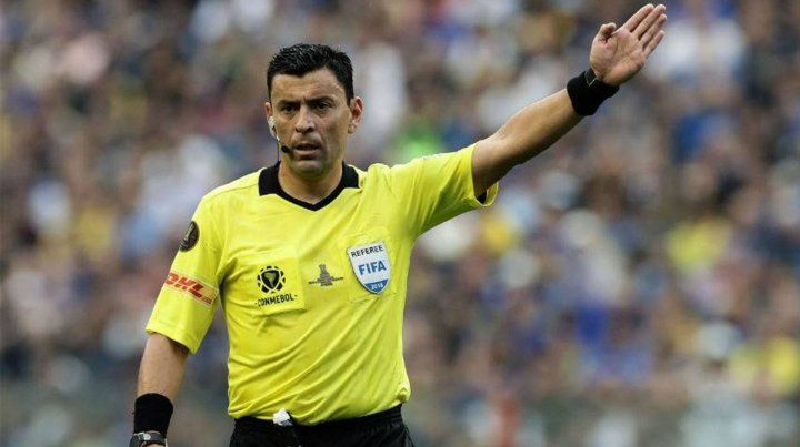Tobar será el árbitro de la final de la Copa Libertadores