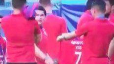 La fuerte polémica que se instaló sobre un jugador de Colón tras la final en Asunción