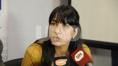 La fiscal Alejandra Del Río Ayala.