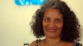 Mirta Alzugaray, referente de La Casa de la CulturaIndo-Afro-Americana Mario Luis López.