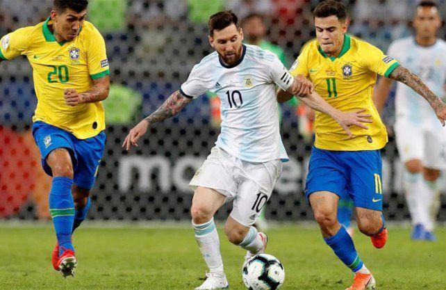 Promesa de partidazo entre Argentina y Brasil con la vuelta de Messi