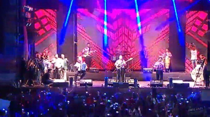 El Yo soy Sabalero retumbó en el inicio del Festival Nacional de la Cumbia