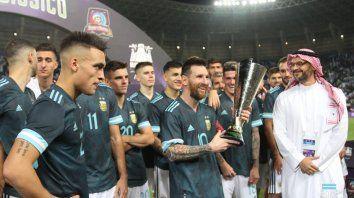 messi le dio el triunfo a argentina ante brasil