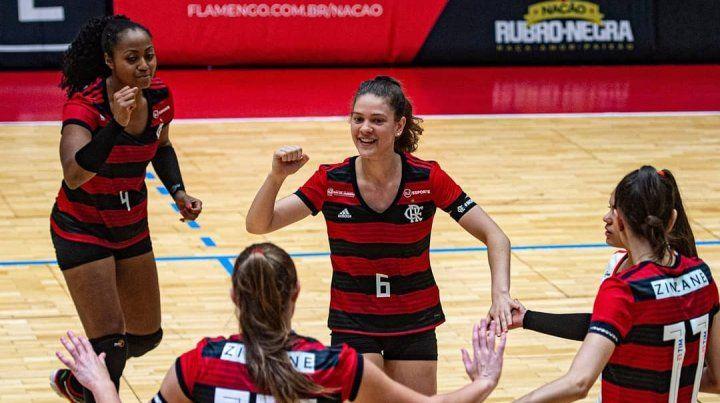 La santafesina Victoria Mayer debutó con una derrota en Flamengo