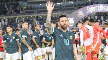 messi: este es el partido que hay que hacerle a brasil