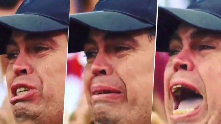 ¡Apareció el video completo del hincha de Colón llorando con el Yo soy Sabalero!
