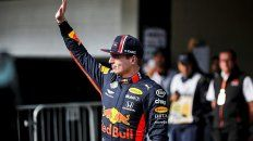 verstappen hizo la pole para el gran premio de brasil de formula 1