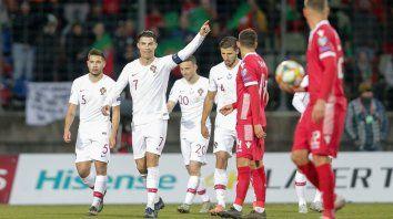 ronaldo llevo a portugal a la euro 2020 y quedo a un gol de los 100