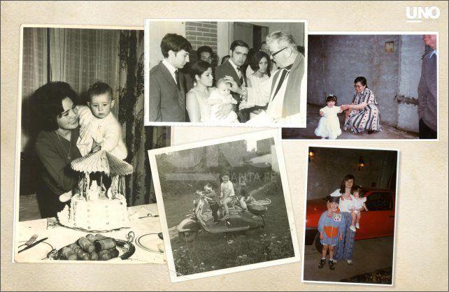 Pasajes. Distintos momentos de la infancia de Alicia Poncelas Donati. En la escuela fue