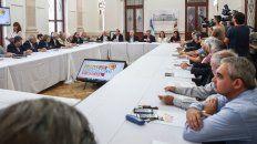 lifschitz presenta un balance de gestion del frente ante el consejo economico