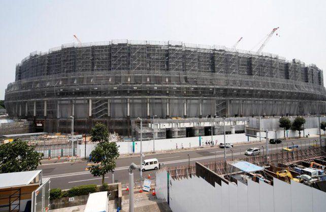 El nuevo estadio olímpico de Tokio está terminado