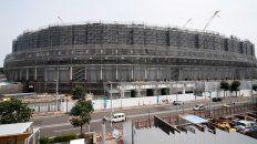 el nuevo estadio olimpico de tokio esta terminado