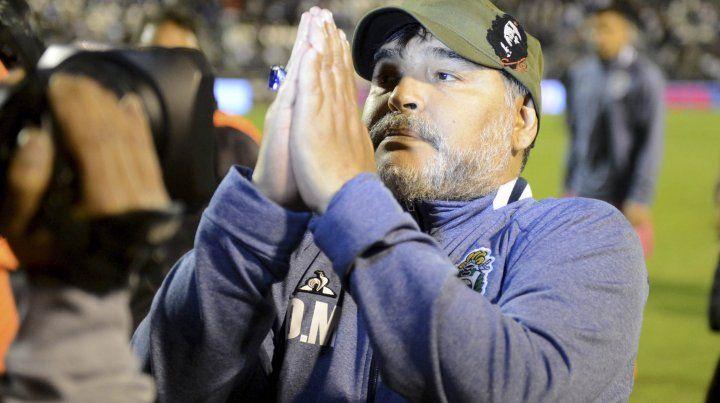Maradona sacudió las redes sociales con una emotiva carta de despedida de Gimnasia