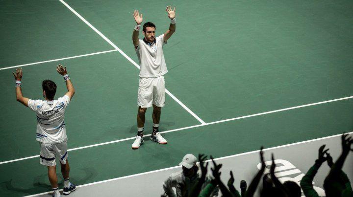 Argentina perdió el dobles y quedó con pocas chances de clasificar en la Davis
