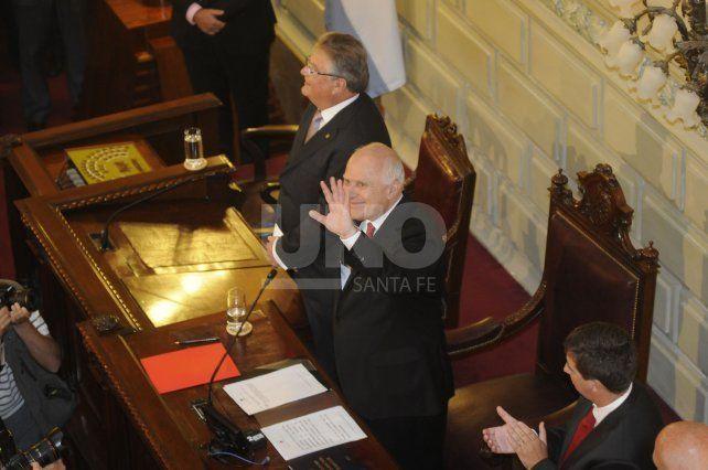 Lifschitz y Fascendini ante la asamblea legislativa