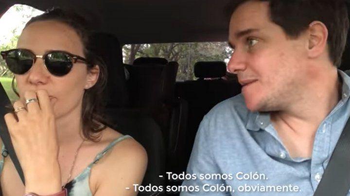 Todos somos Colón: el video desopilante de la pareja tendencia en redes sociales