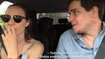 todos somos colon: el video desopilante de la pareja tendencia en redes sociales