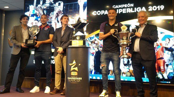Se lanzó oficialmente el Trofeo de Campeones