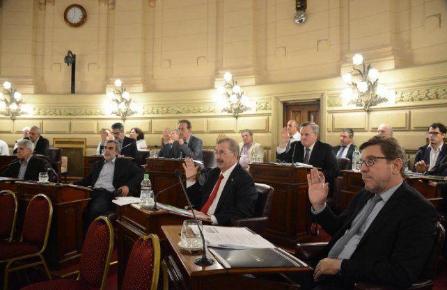 En un jueves cargado de tensiones el Senado aprobó sobre tablas el presupuesto