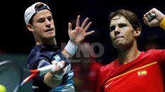 argentina va por la hazana ante espana en la copa davis
