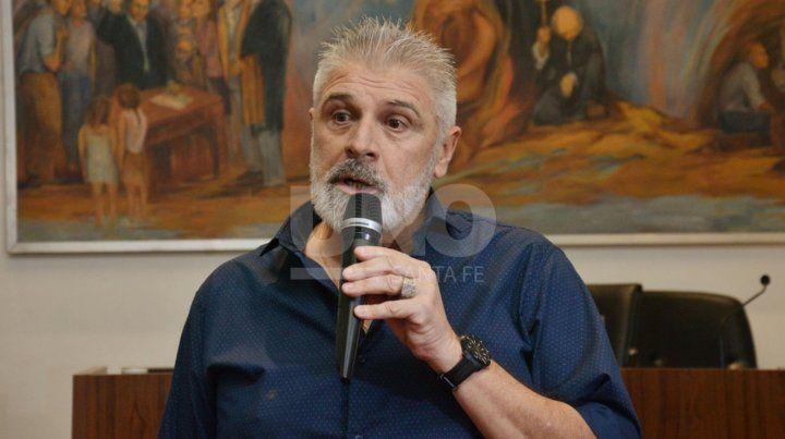 Rubén Rossi fue reconocido por el Concejo Municipal