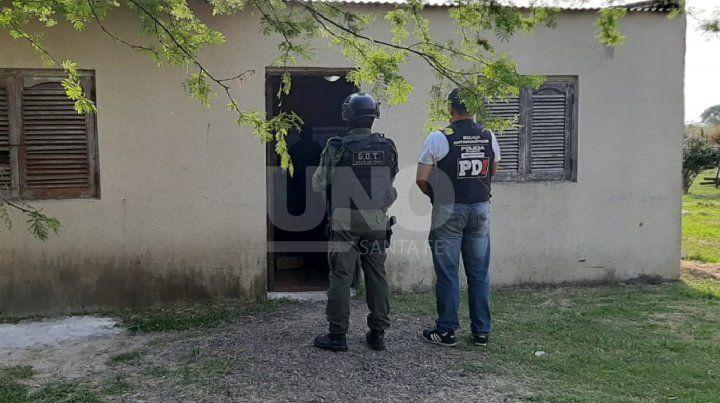 Cayeron siete narcos de una red de venta de drogas entre Corrientes y el norte santafesino