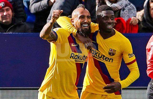 Barcelona superó a Leganés y sigue en lo más alto de la Liga
