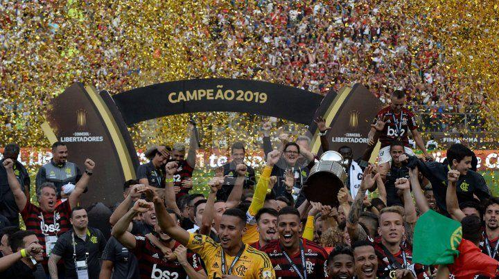River se durmió y Flamengo es el campeón de la Libertadores