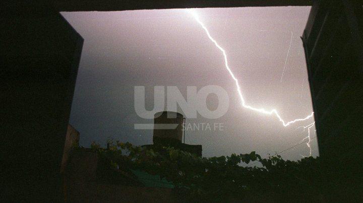 Alerta meteorológico para Santa Fe por tormentas fuertes