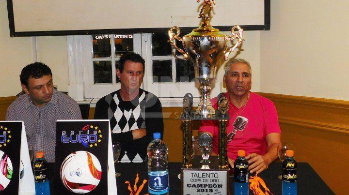 Presentaron la 10ª edición del Torneo Talentos de Fútbol Infantil