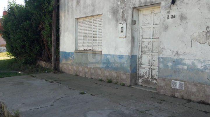 El lugar en dónde fue emboscada y baleada la víctima.