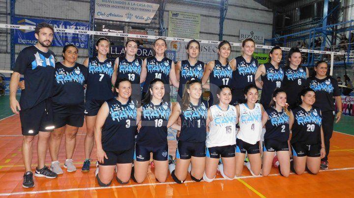 Villa Dora es el campeón del vóleibol femenino santafesino